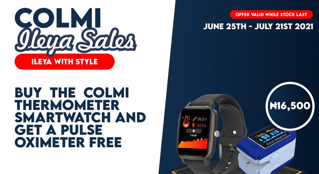 colmi thermometer smartwatch-ileya-promo-2021-banner