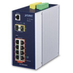 Planet-IGS-10020HPT-Industrial-8-port-10/100/1000T-802.3at-PoE+2-port-1G/2.5G-SFP-Managed-Switch-Environmentally-Hardened-Design-ikeja-lagos-computervillage-alaba-arena-oshodi-abuja-nigeria-distributor